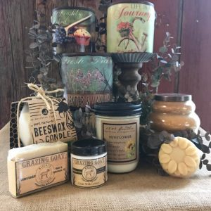 Candles, Soaps and Lotions